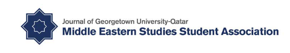 image of Journal of Georgetown University-Qatar Middle Eastern Studies Student Association